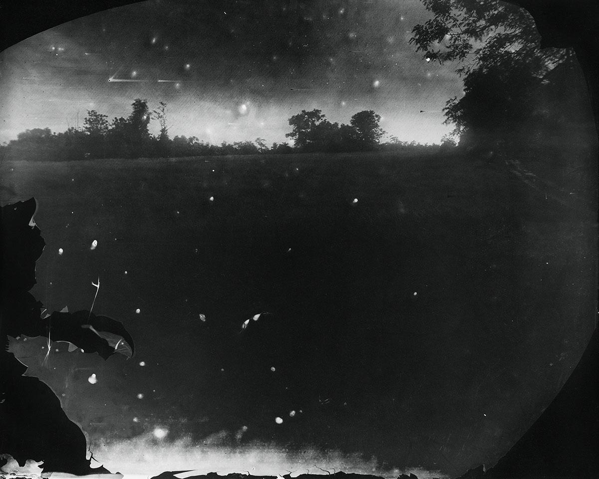 © Sally Mann  Battlefields, Antietam (Starry Night) , 2001. Gelatin silver print. Alan Kirshner and Deborah Mihaloff Art Collection