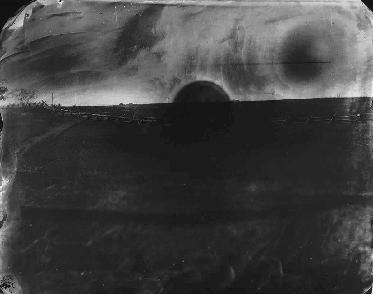 © Sally Mann  Battlefields, Antietam (Black Sun), 2001.  Gelatin silver print. Edwynn Houk Gallery, New York