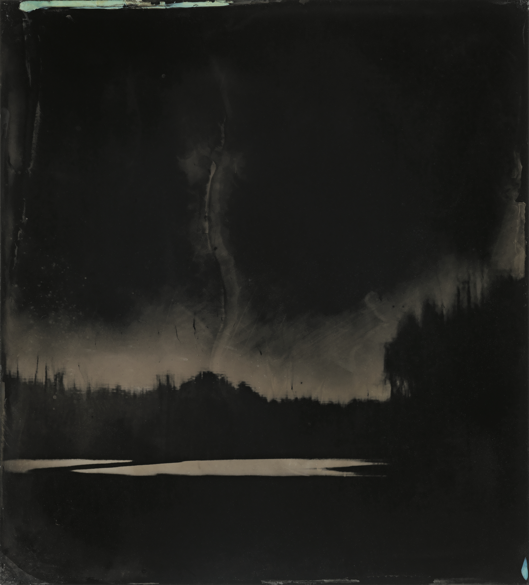© Sally Mann.  Blackwater 9, 2008–2012.  Tintype. Collection of the artist