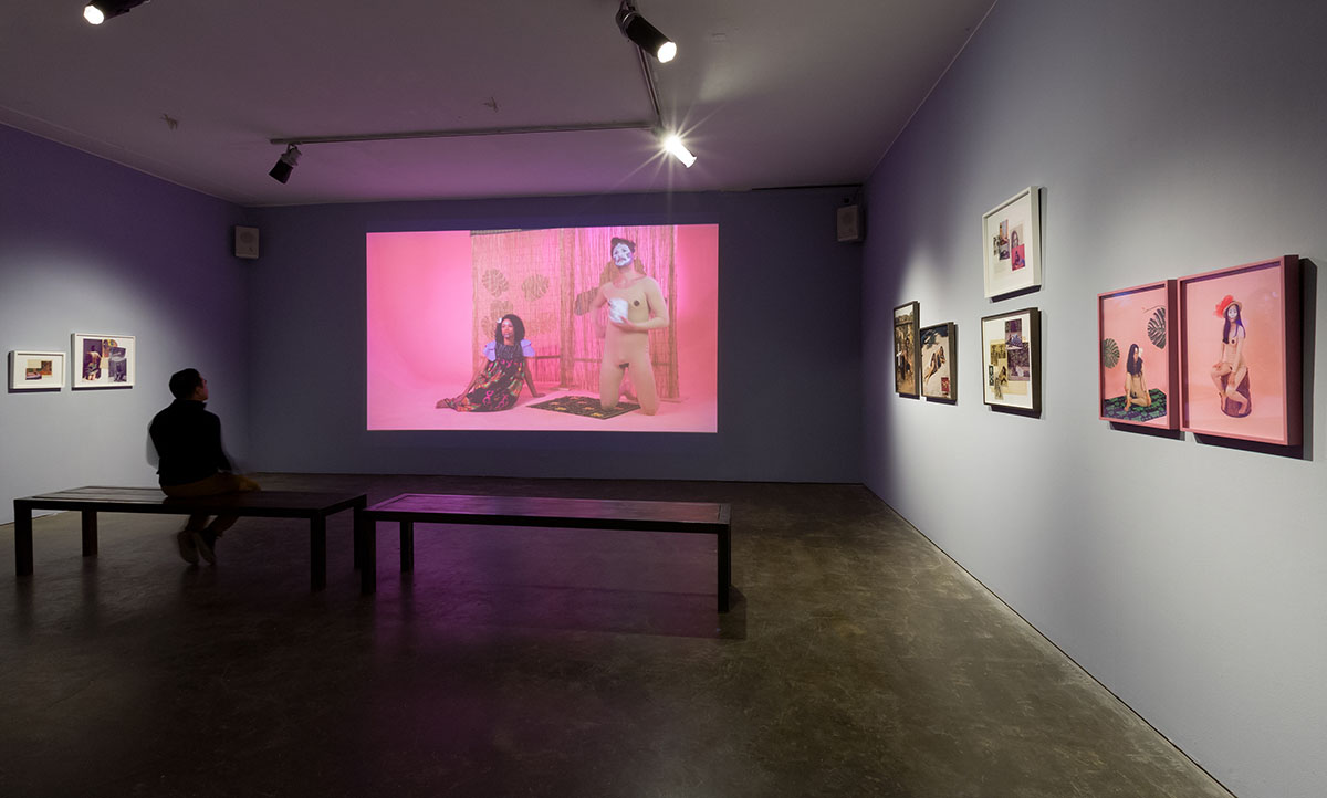 Installation view at Smack Mellon. Photo: Etienne Frossard