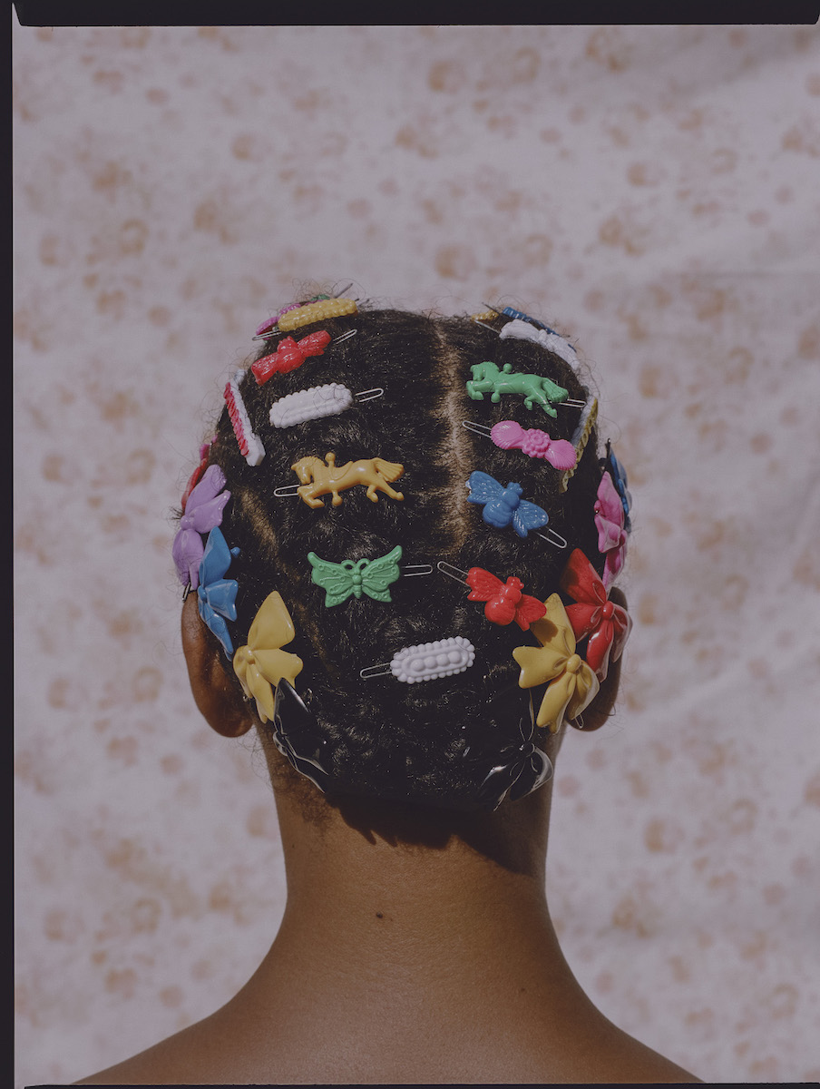 Adeline in Barrettes, 2018  © Micaiah Carter
