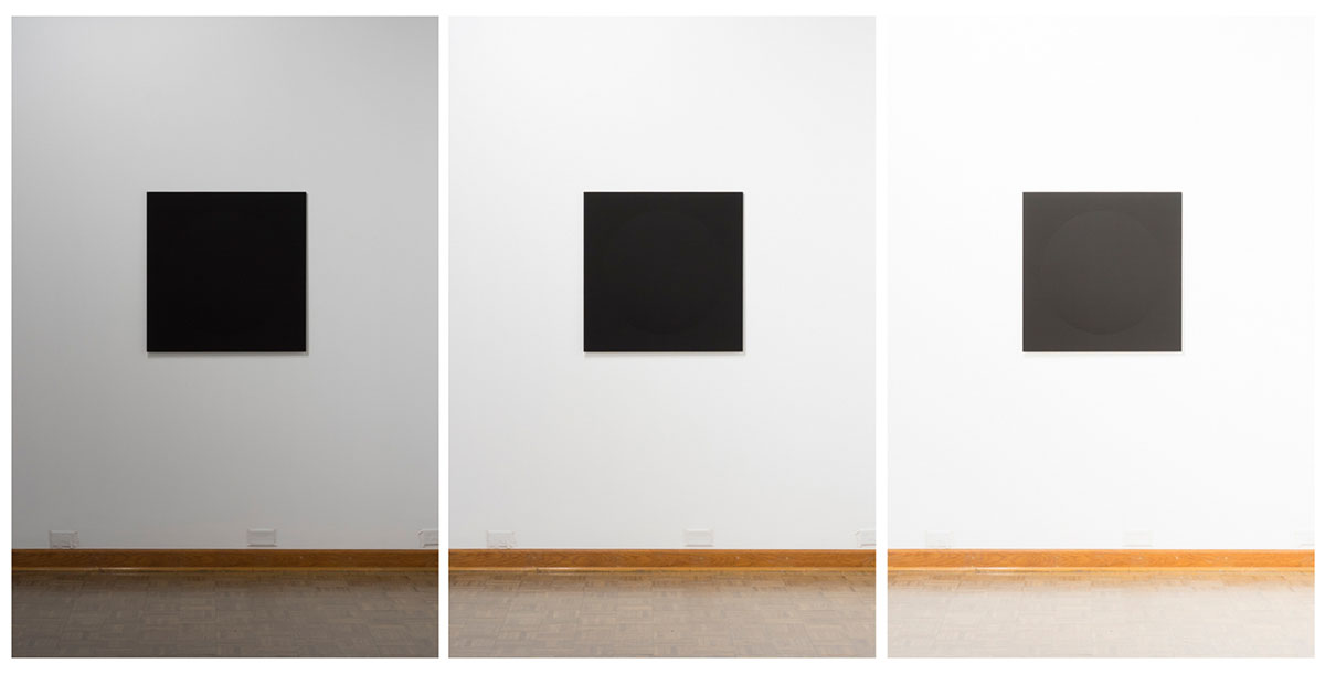 I lose the edges, I could not see to see (Installation photograph) © Ariel C. Wilson.