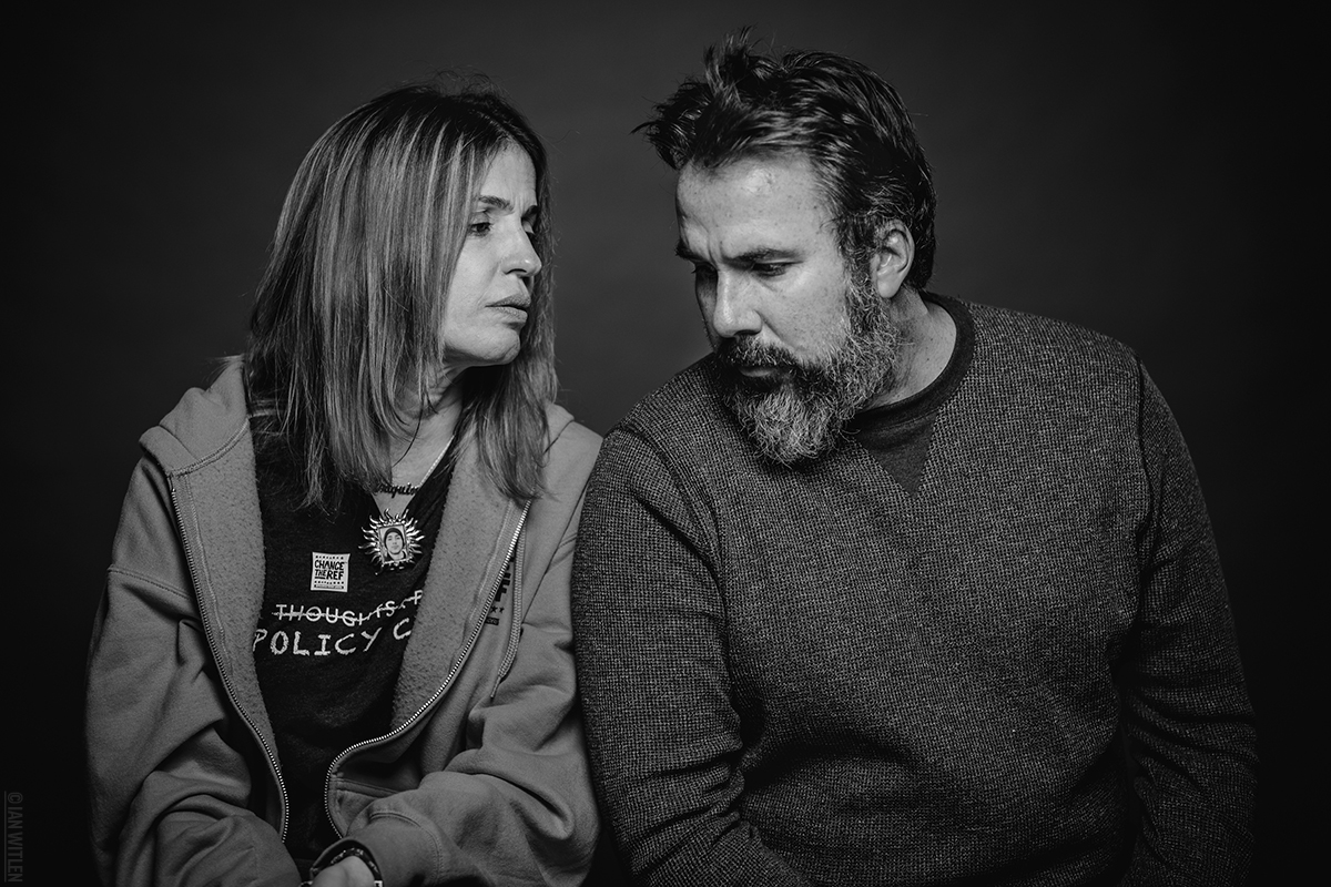 Patricia and Manuel Olive © Ian Witlen