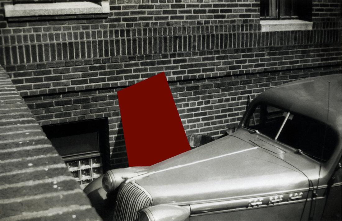 Alley, automobile, 2008. © Jane Wagoner Deschner. From the  Underneath  series.