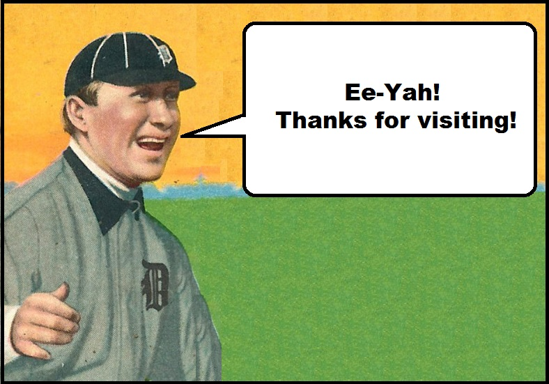 """Ee-Yah! Thanks For Visiting!"""