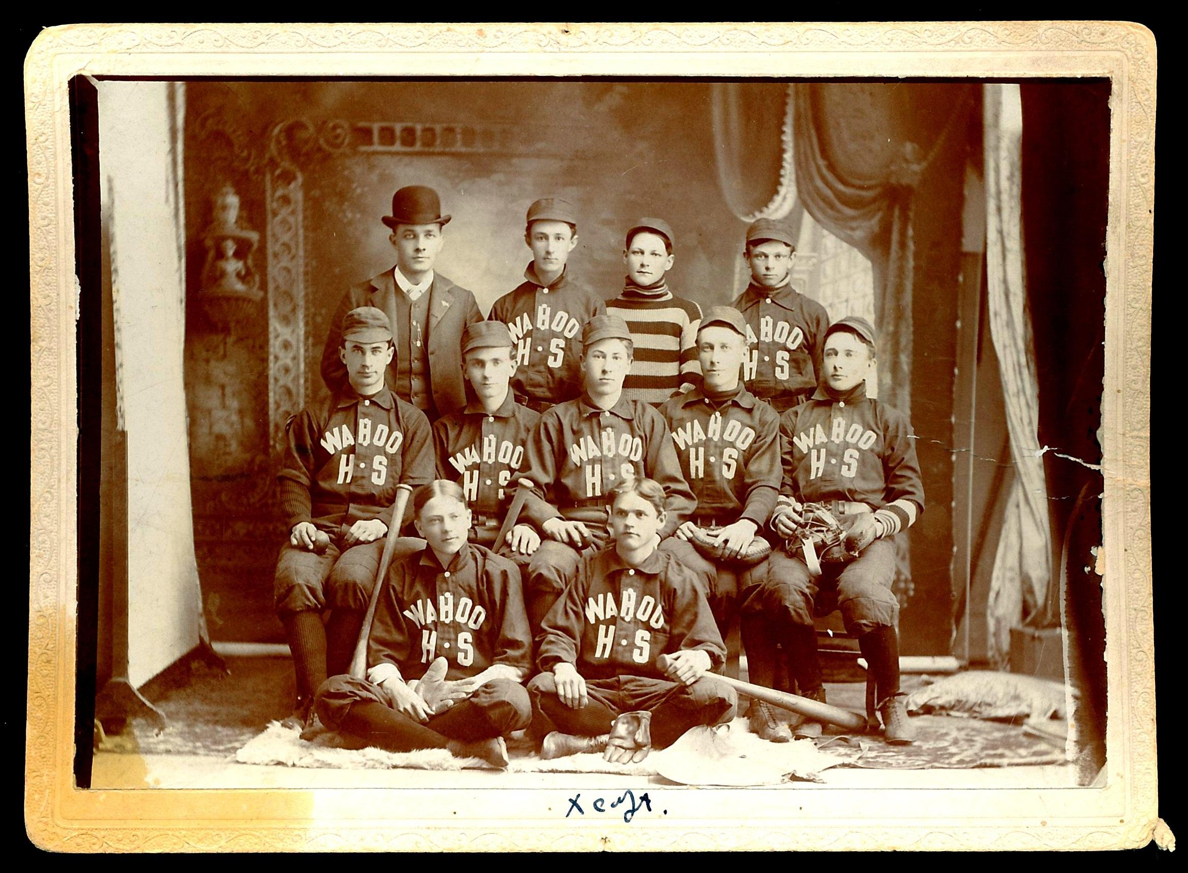 Wahoo High School 1900