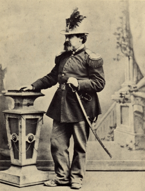 Emperor Norton, c.1875, by Bradley & Rulofson studio. Collection of the Oakland Museum of California.