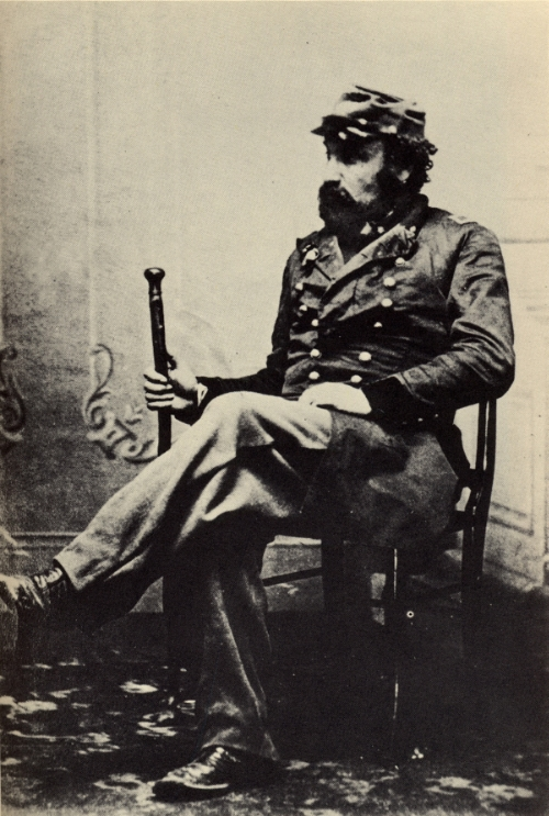Emperor Norton in the 1860s. Collection of the Bancroft Library at the University of California, Berkeley.