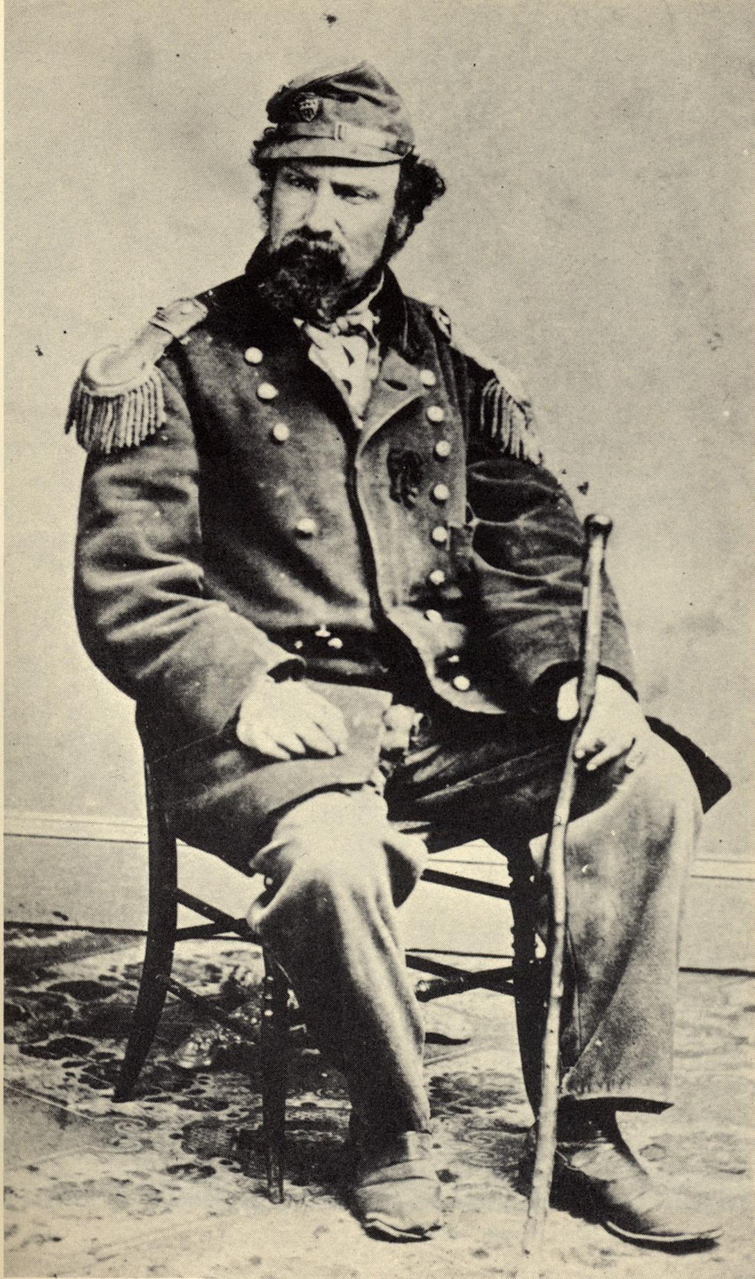 Emperor Norton in the 1860s (a)