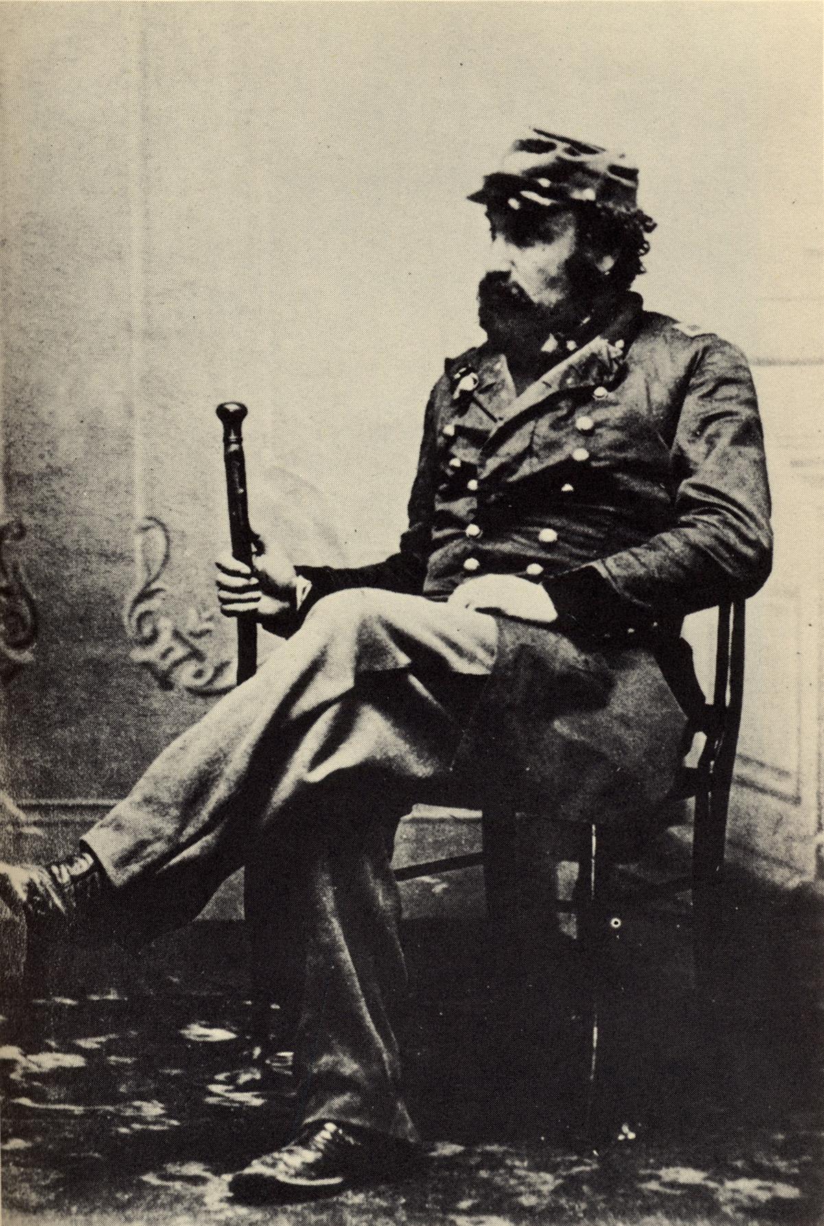 Emperor Norton in the 1860s (b)