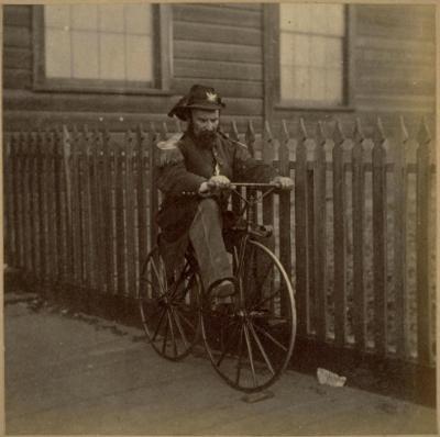 Emperor Norton, 1869.   Photo:Eadweard Muybridge. Source: Bancroft Library, University of California Berkeley.