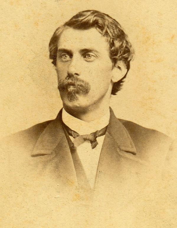 Palmer Cox (1840-1924). Photograph: Nahl Brothers, Artists, San Francisco, c.1865-71. Source:  James Dalton Collection  of the Grand Lodge of British Columbia & Yukon (Masons).