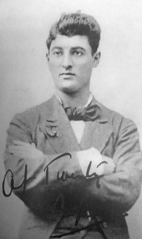 David Belasco in 1873.  Source:  Seattle Opera .