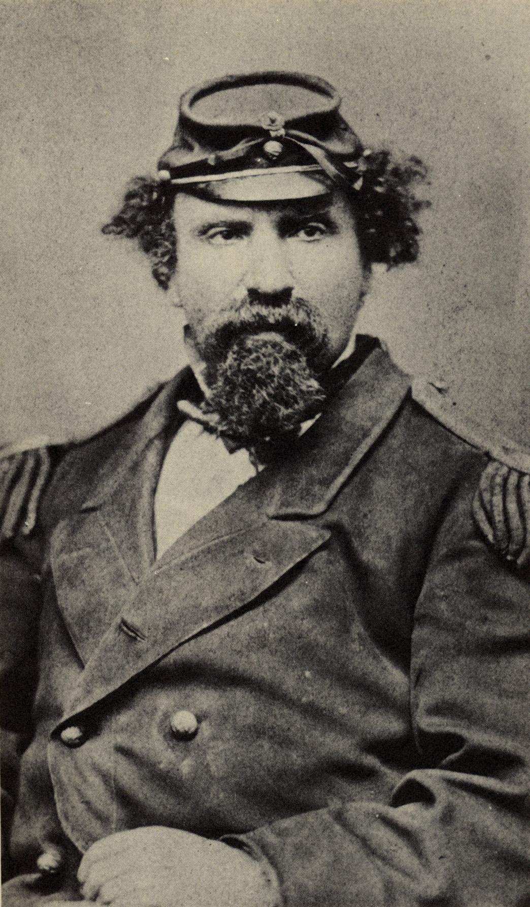 Emperor Norton, c.1871–72.  Photograph by Tuttle & Johnson, Heliographic Artists, 523 Kearny Street, San Francisco.
