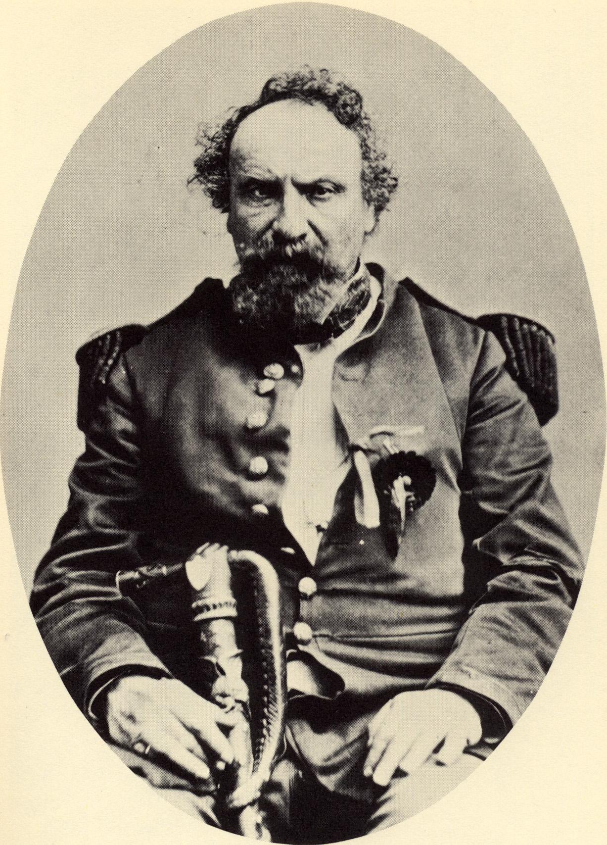 Emperor Norton, c.1878.  Photo: Bradley & Rulofson. Collection of the California Historical Society.