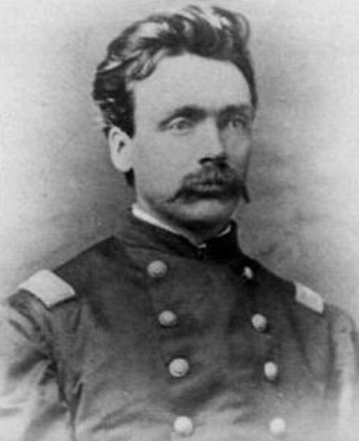 Gen. Oscar Hugh La Grange, c.1863.  Source:  National Women's Historical Society .
