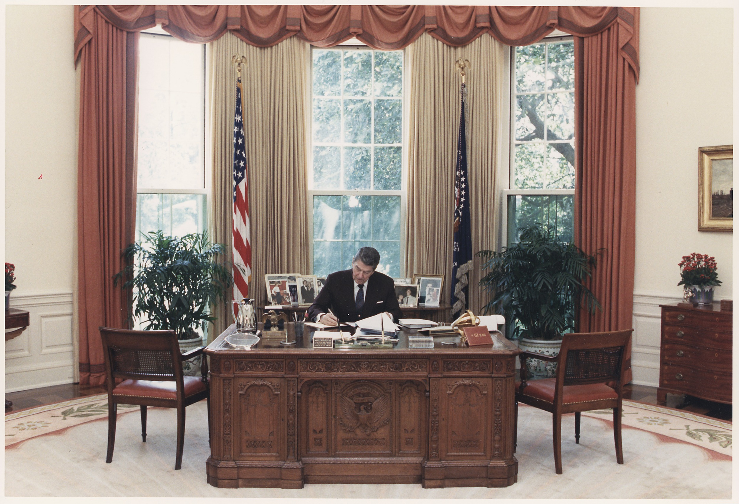 Photo Credit:  Photograph of President Reagan - NARA