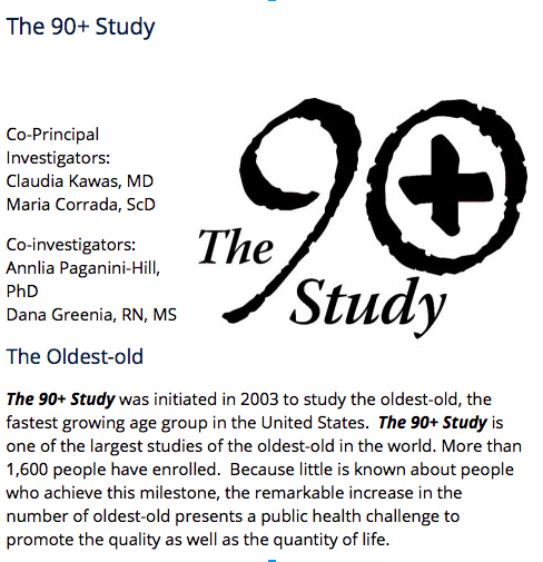 90 plus study