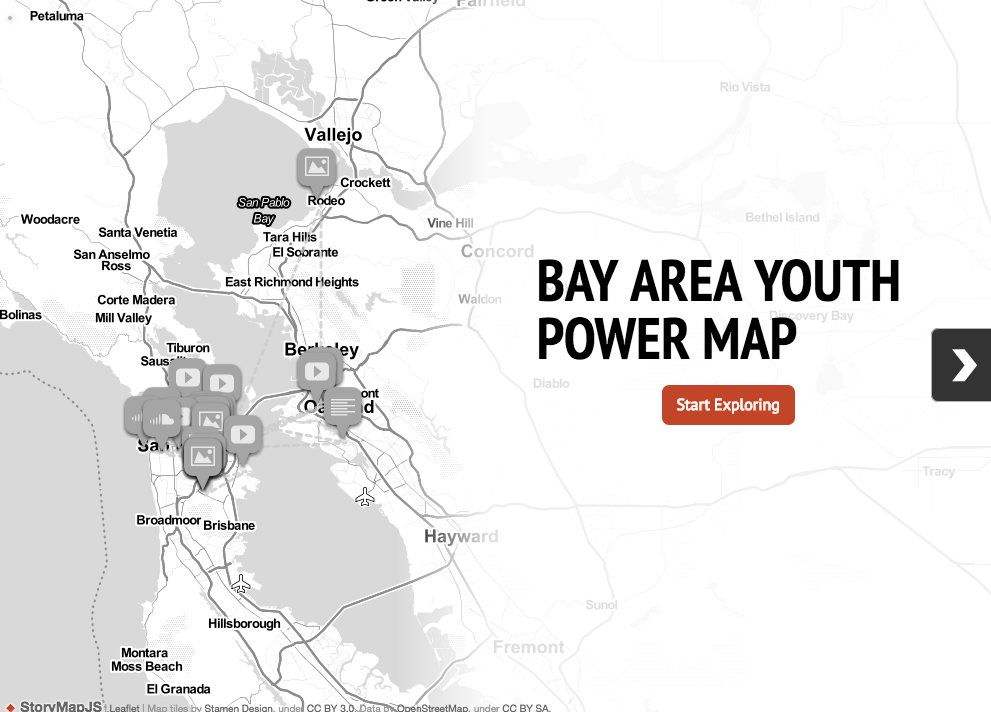 Bay Area Youth Power Mapping