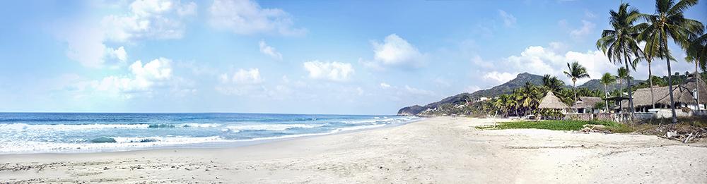 Beach View Puerto Vallarta Mexico