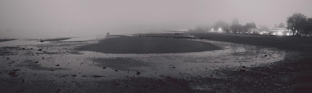 Kitsalano Beach Foggy Winter