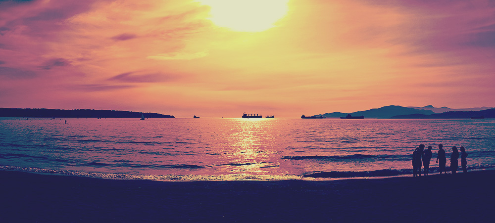 English Bay Vancouver Sunset