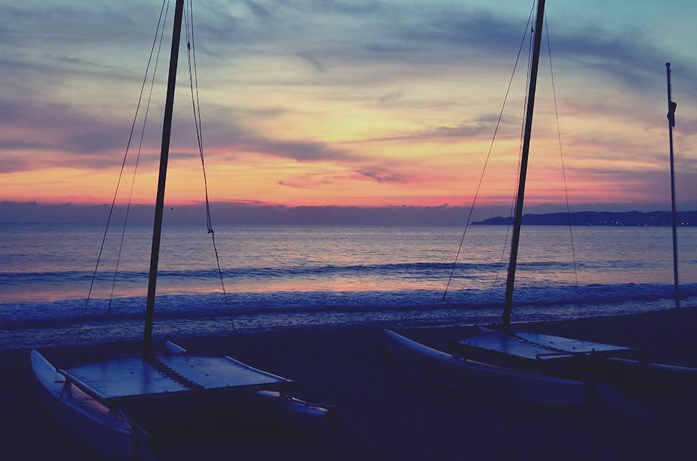 Sunset of Puerto Vallarta