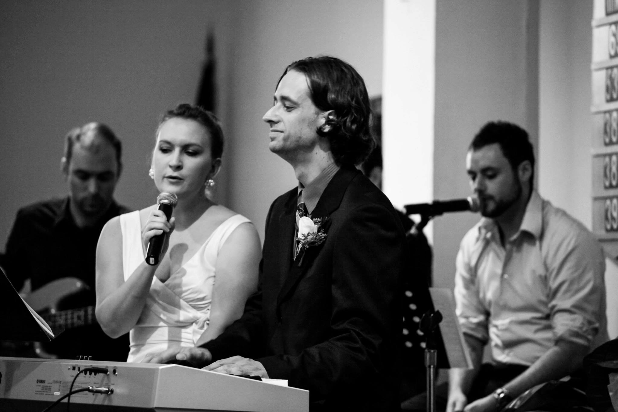 Taken with a great camera, the same one many wedding professionals use, but still dark and grainy.
