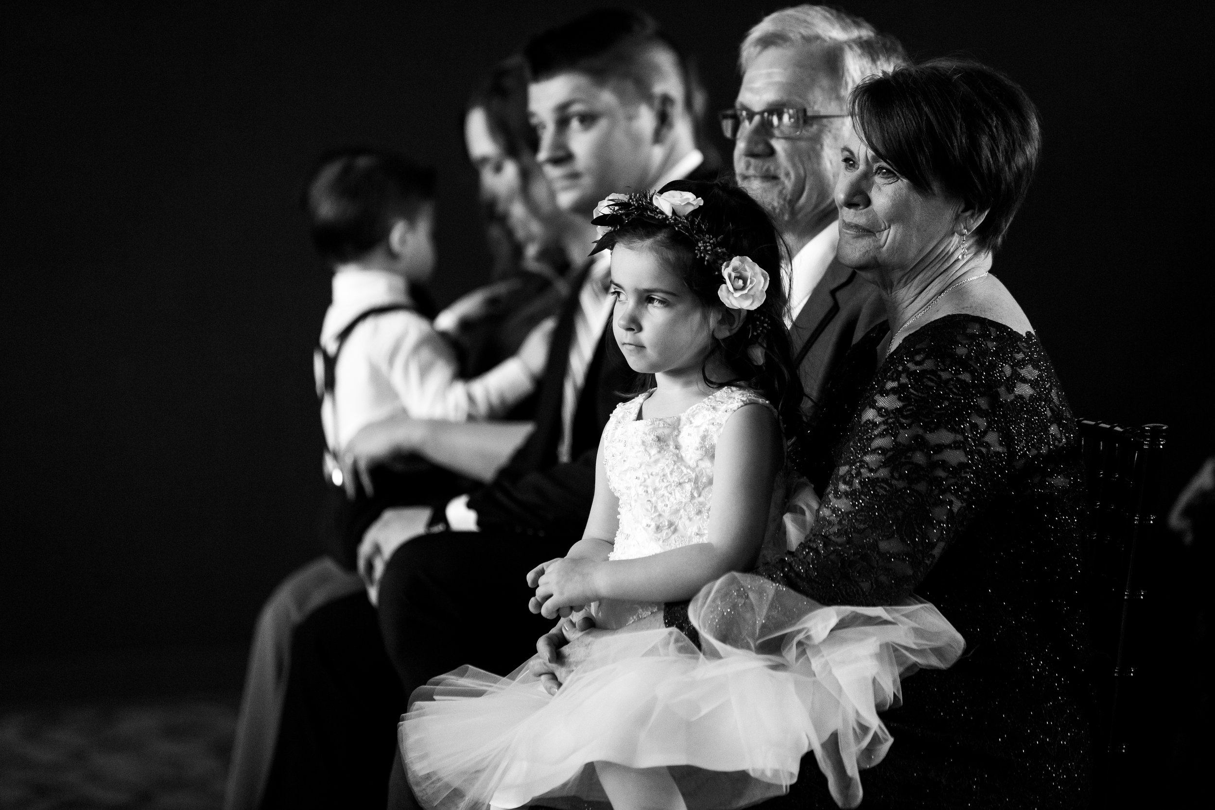 I WANT TO GET ALL OF THE PROUD AND CRYING MOMS (AND DADS AND GRANDMA AND GRANDPAS). Its my mission. Also, this venue had black walls and large windows. LOOOOOVVVVEEEEEE. Taken for Justin Hankins Photography.