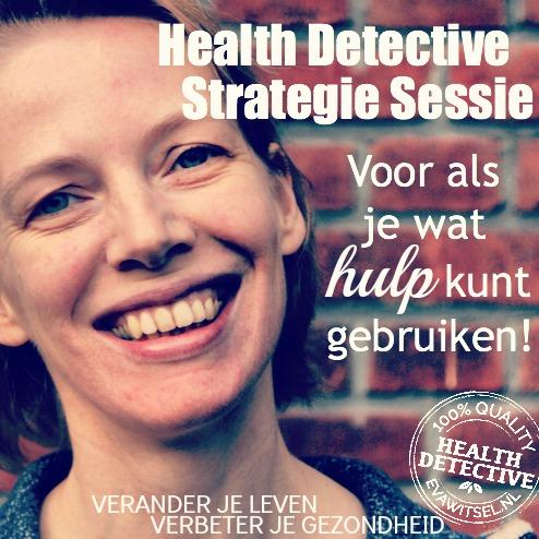 Health Detective Strategie Sessie