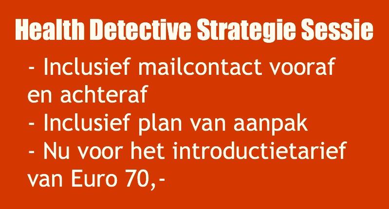 Health Detective Strategie Sessie - info