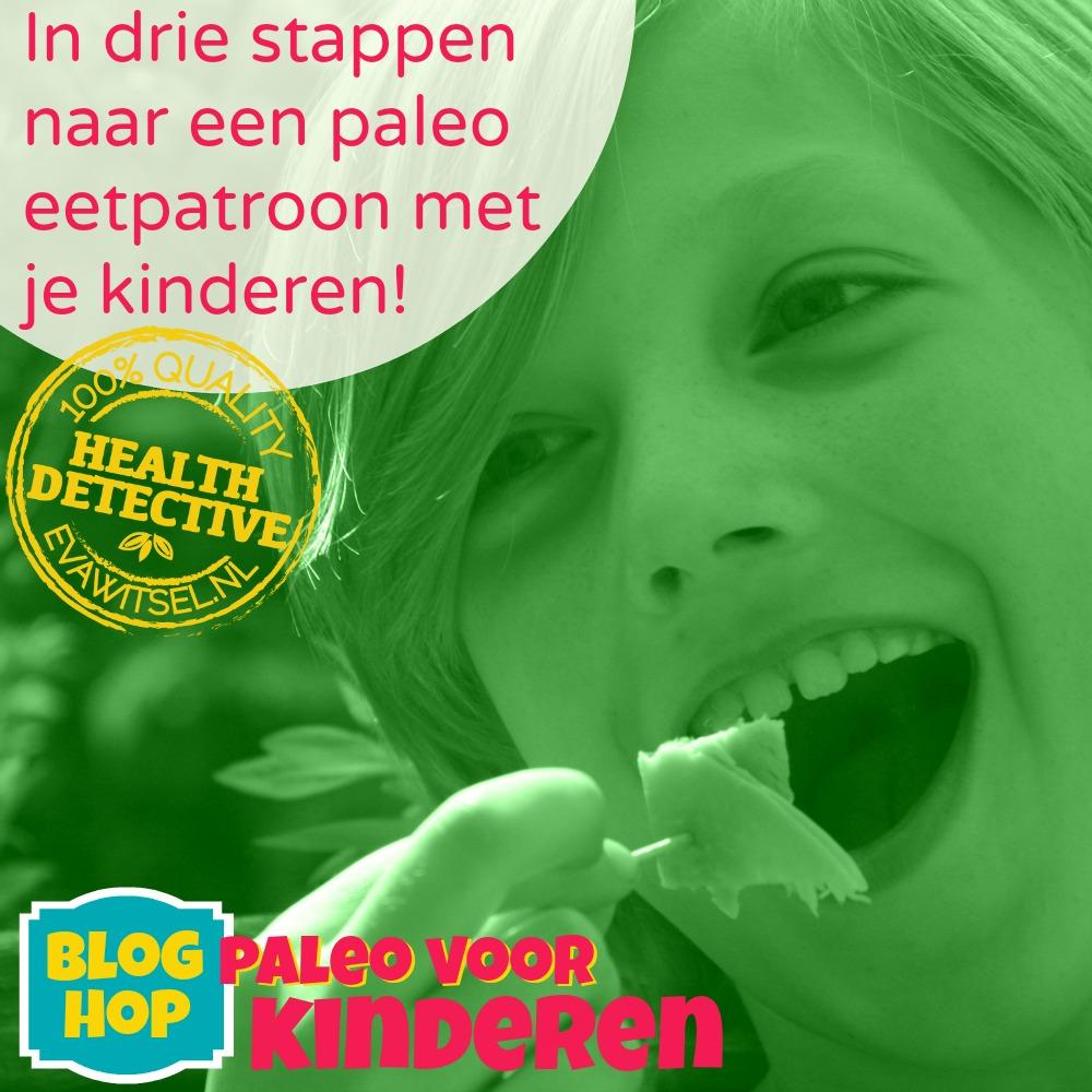 Paleo voor kinderen - In drie stappen naar een paleo eetpatroon met je kinderen!