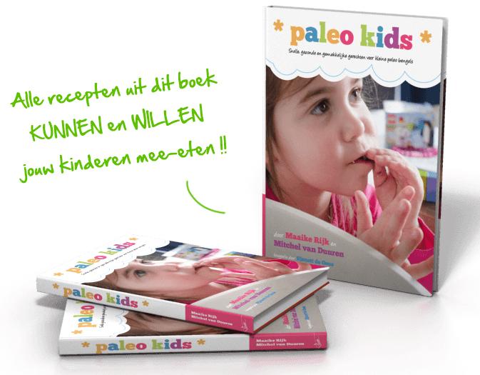 Lancering: paleo kids ebook