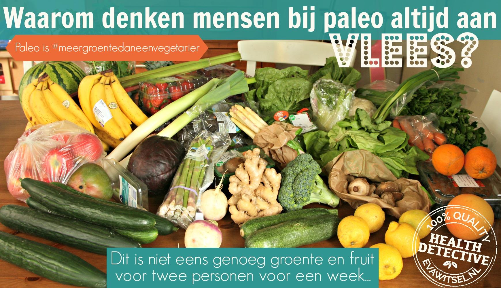 Meer groente dan een vegetariër