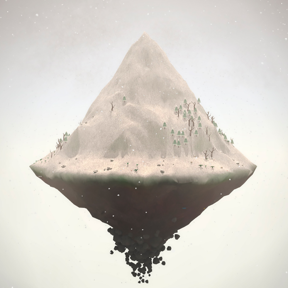 One of the mountains you may control. This one looks a little barren.