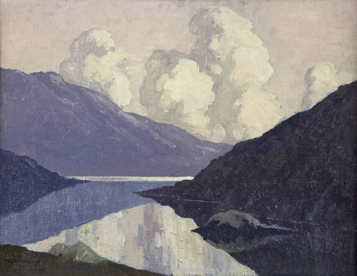 Paul Henry 'Clouds at Sunset' 1910-11
