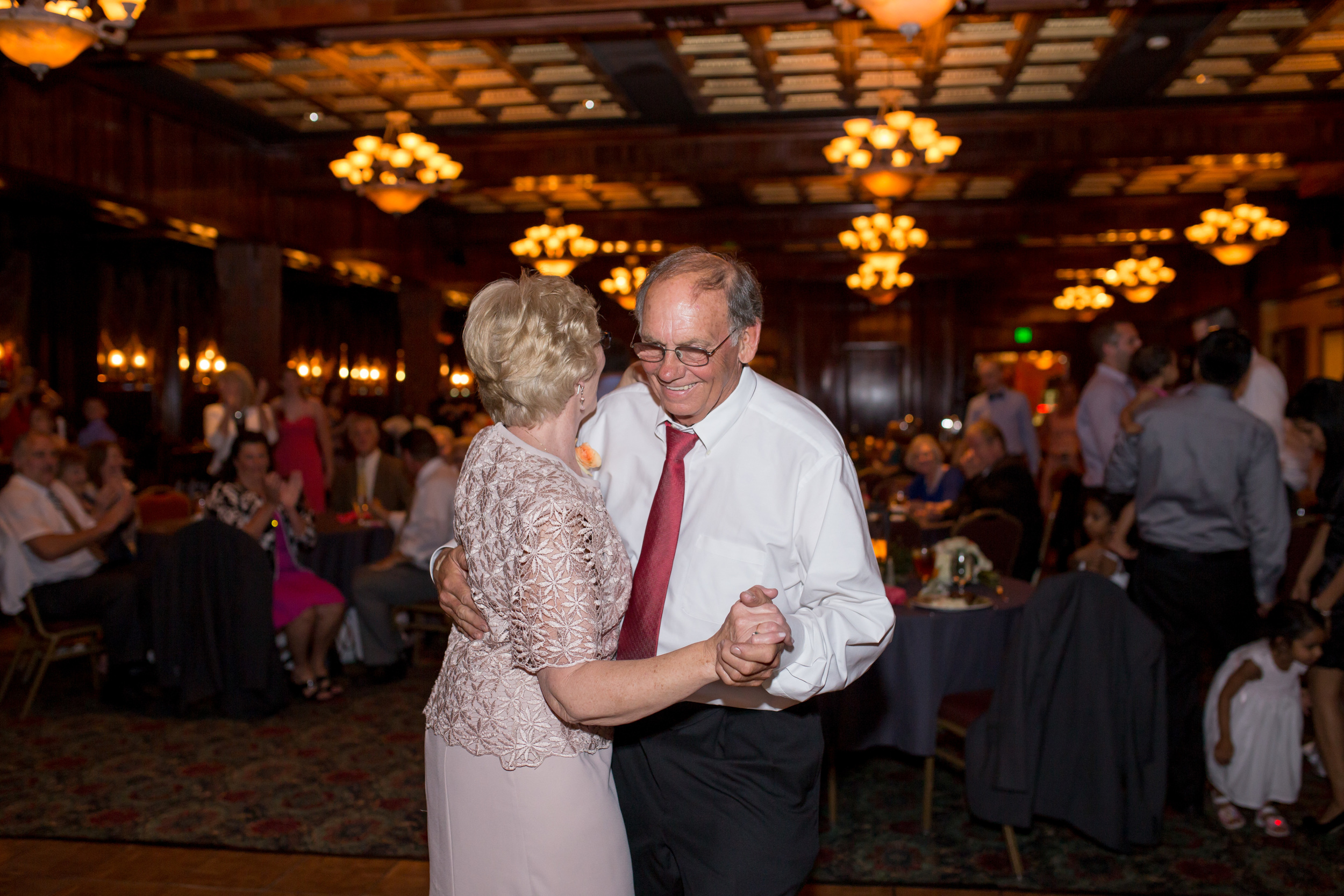 """This was the """"who's been married the longest dance"""" I can't recall how long it was, but I know it was quite a lot! Very impressive, and they even gave their tips and advice at Hope and Cole's wedding. Mr. and Mrs. Ward, you are truly an inspiration to us all! Treasured Moments Photography"""