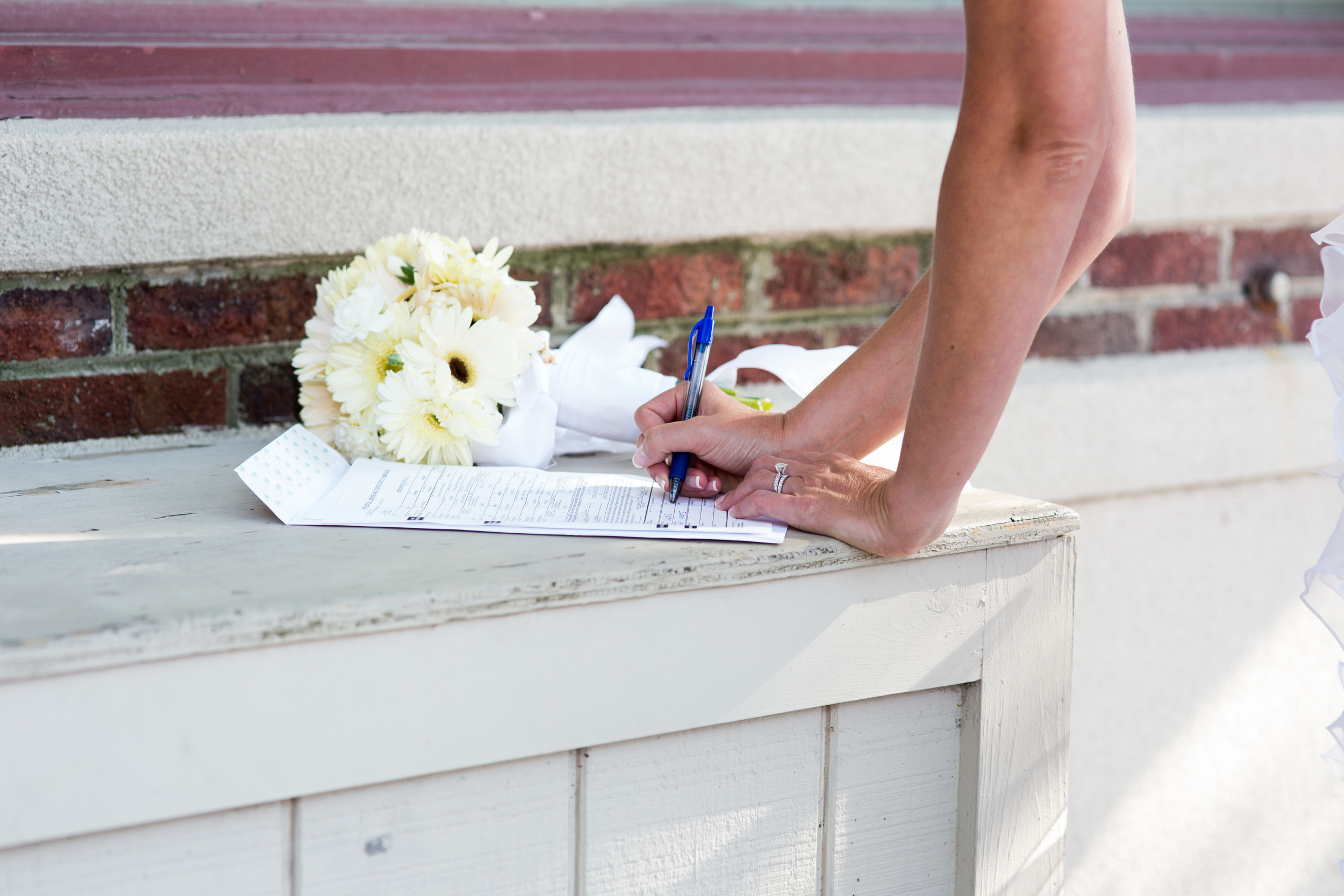 Remember it's not just a piece of paper it's a Lifelong Commitment! Be kind, be nice, have fun, dance, be silly, flirt, and most of all remember that you chose this person to be your lifelong partner, so be faithful!---Tammy Bunn, 12 years with hubby, Treasured Moments Photography ;)