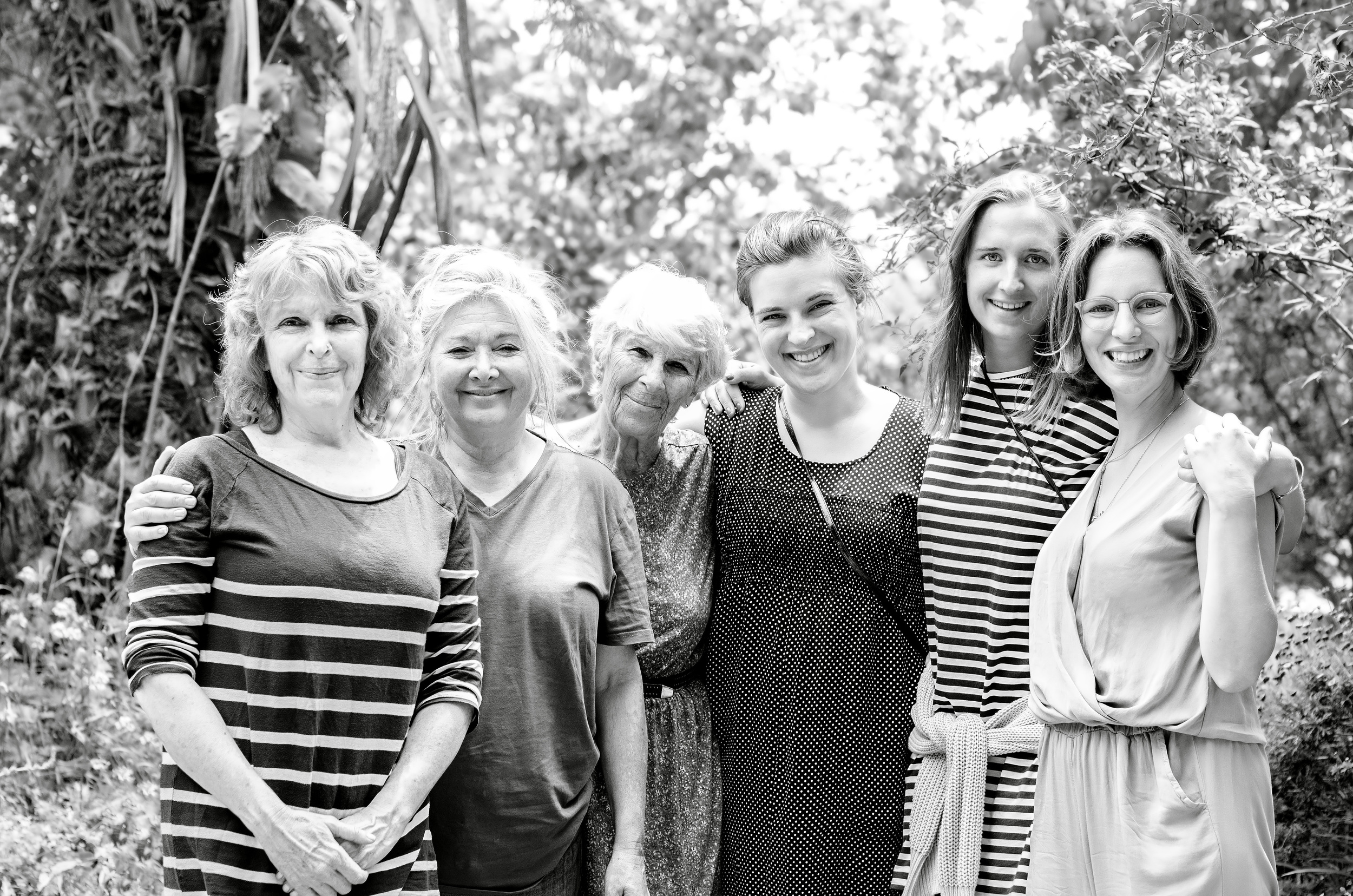 From the left: Sygalle (my mother), Michal (cousin from Jerusalem), Ayala (my grandma from my mother's side),Ida, Mari & Laura (Ida & Laura are sisters, our cousins from Denmark. Mari is their good friend from Norway).