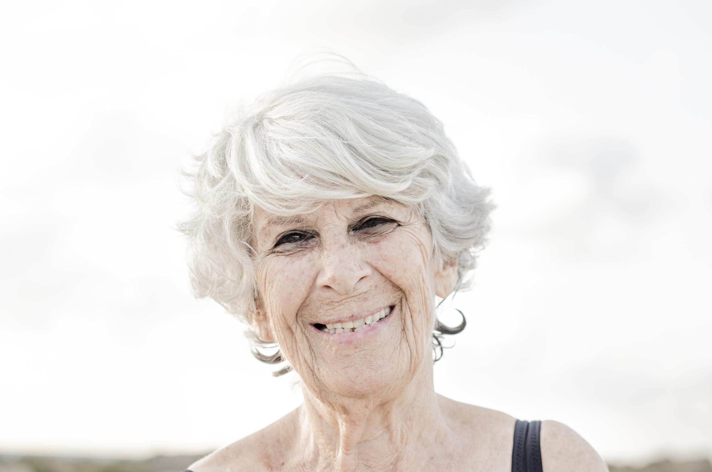 My grandmother, Ayala.