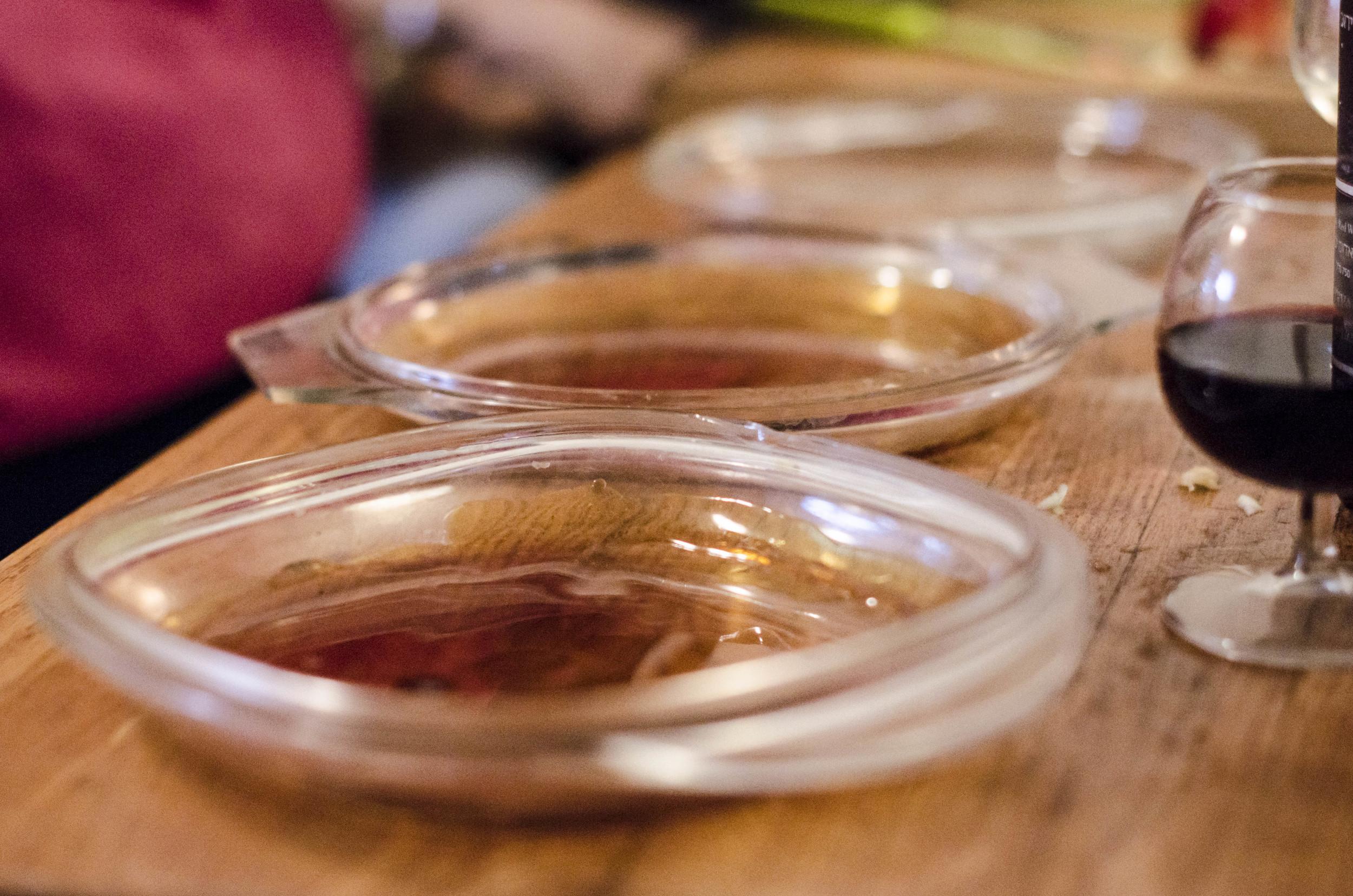 Apple Tarte Tatin -Caramel at the bottom