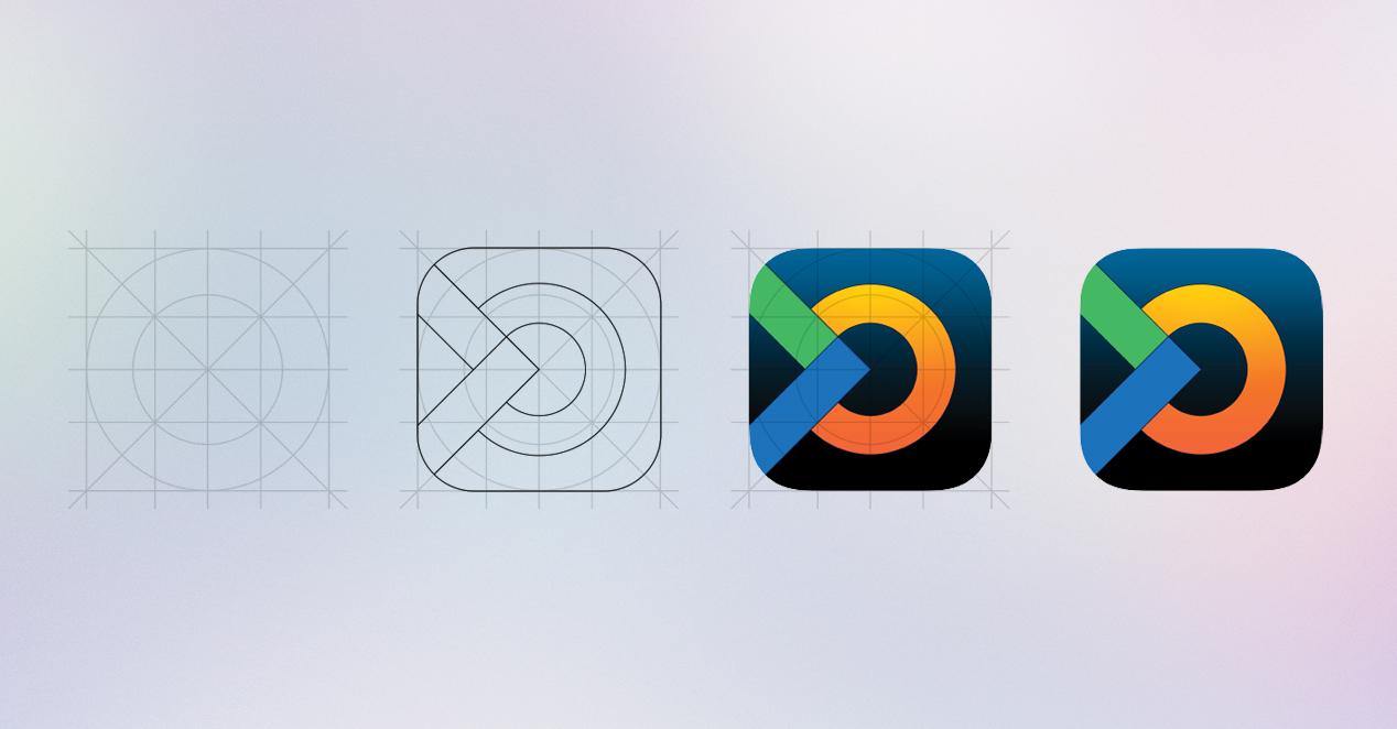 OpinionAPP icon process design cint