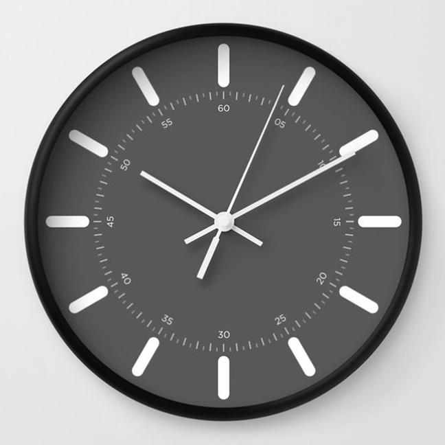 wall clock daniele tottle Raggi grey.jpg
