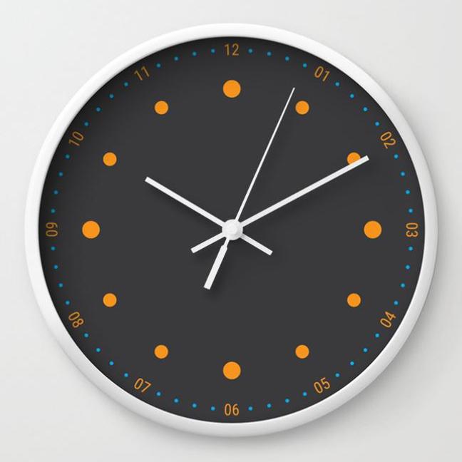 wall clock daniele tottle Preciso grey 2.jpg