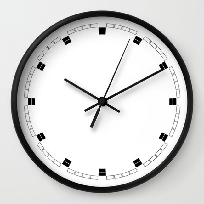 wall clock daniele tottle Celle white.jpg