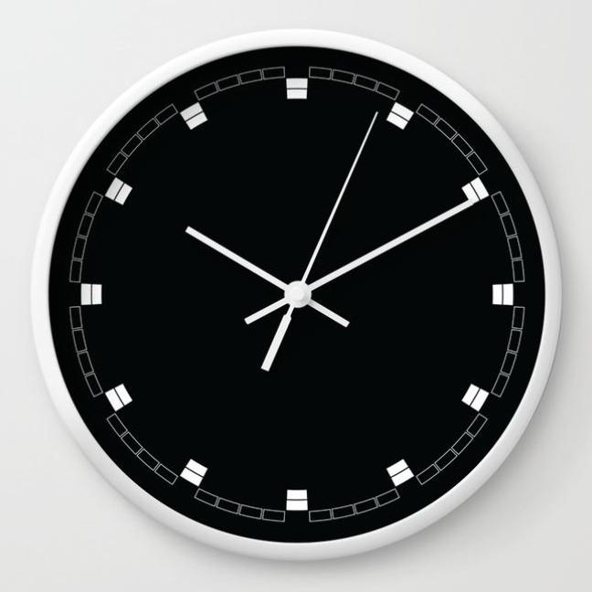 wall clock daniele tottle celle black.jpg
