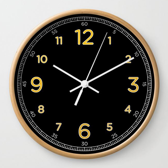wall clock daniele tottle Numerato black.jpg