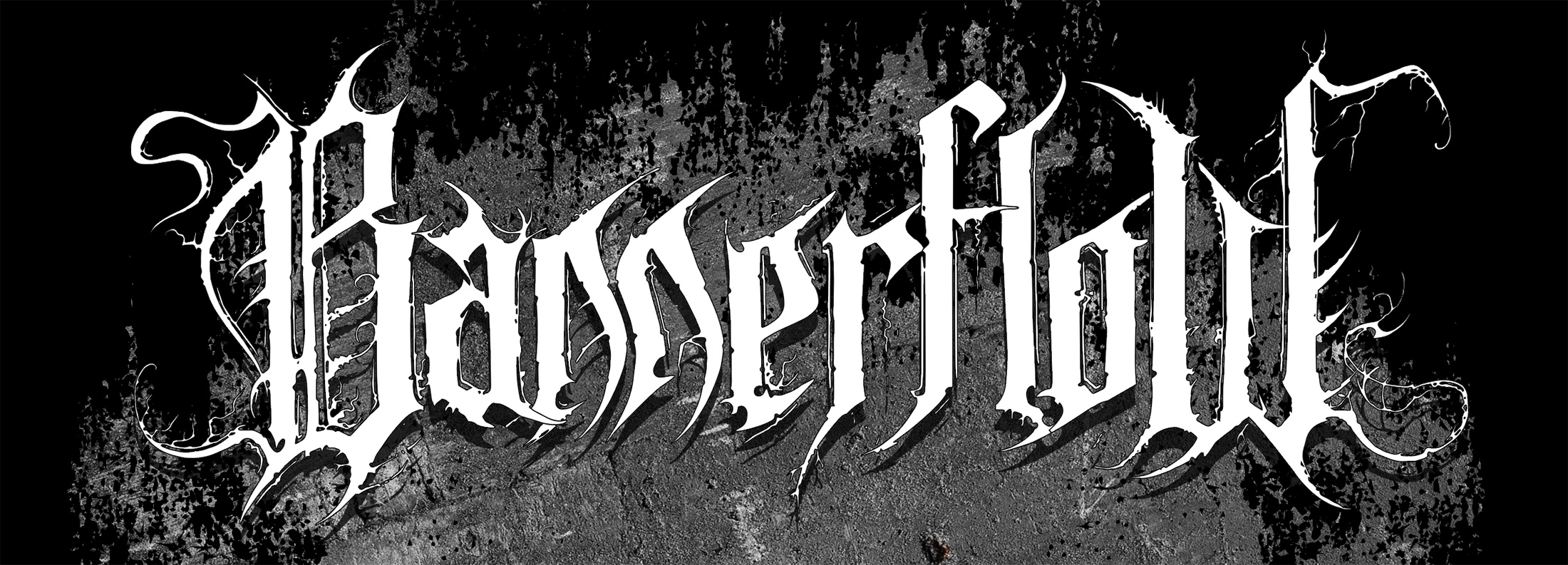 The custom logo (with a black metal twist) was one of the most fun parts of this project.