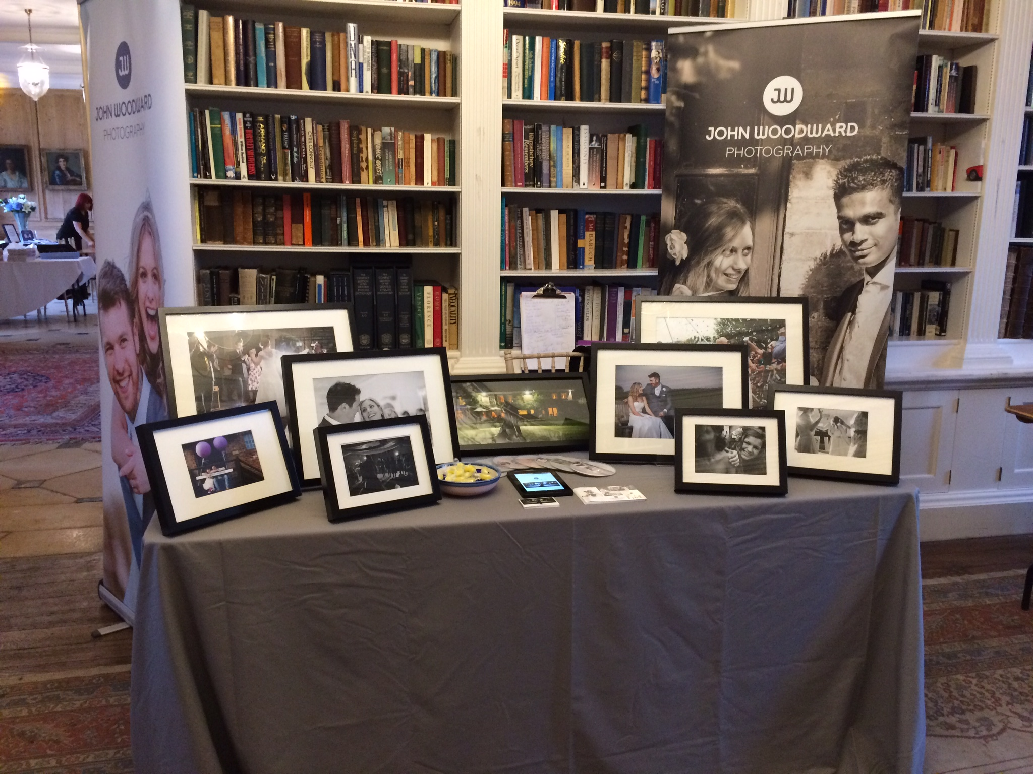 My humble little stand at the Anstey Hall Wedding Fair earlier this year!