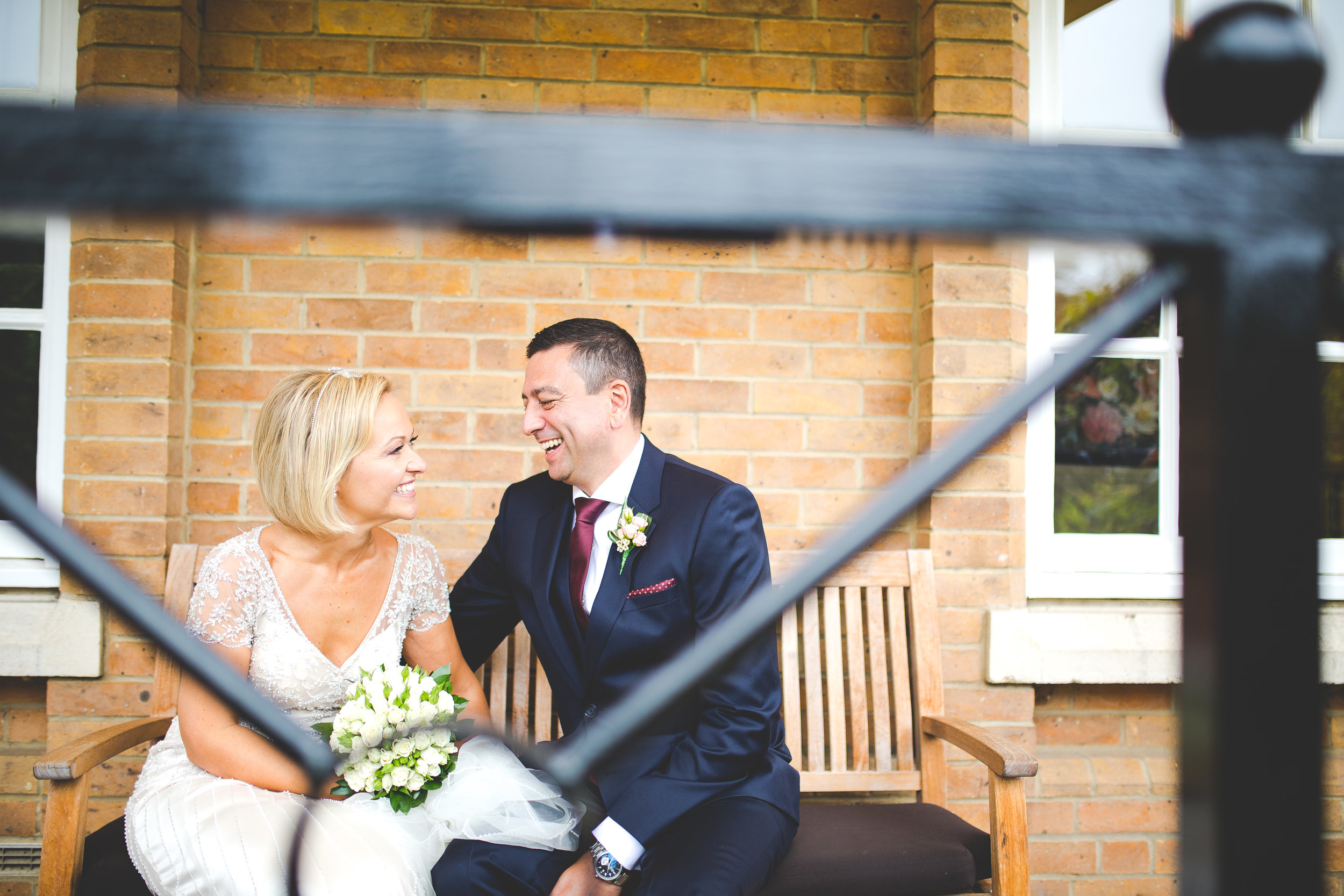 Gorgeous simple and elegant wedding at Bedford Lodge Newmarket